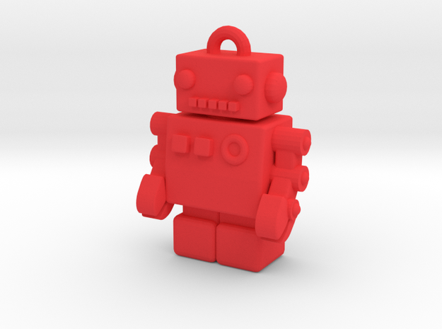 Color Robot USB Pen Drive 3d printed
