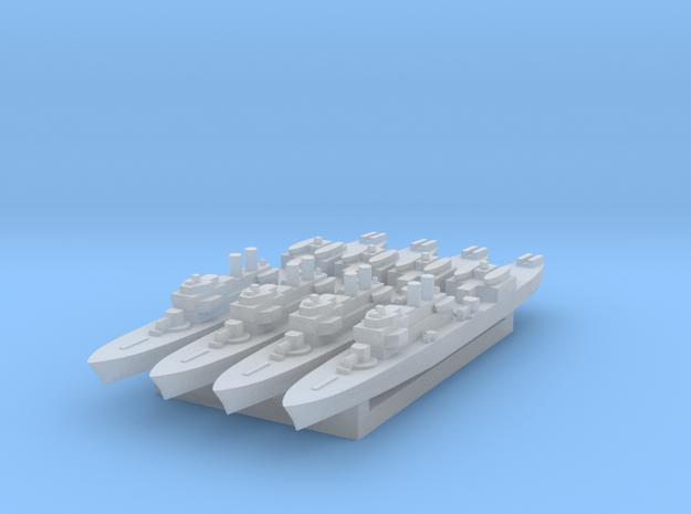 Marne 1:3000 x4 3d printed