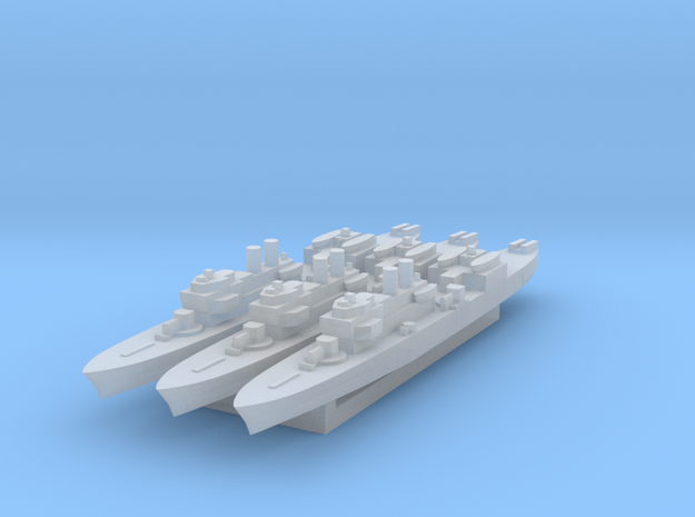 Marne 1:2400 x3 3d printed