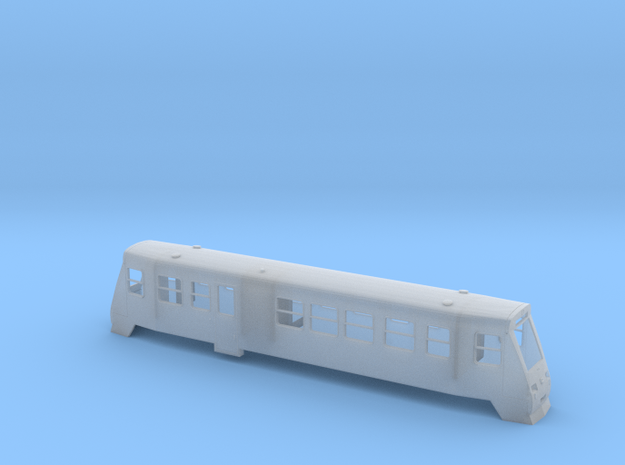 VT187 016-019 der HSB Spur TTm (1:120) in Smooth Fine Detail Plastic