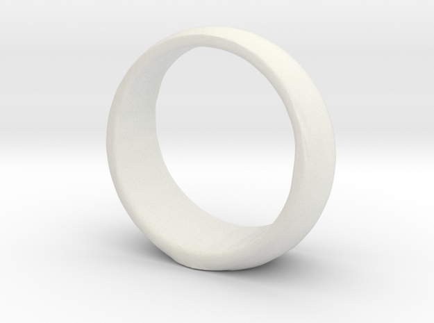 Animated GL ring in White Natural Versatile Plastic
