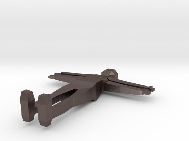 Game Guy base model in Polished Bronzed Silver Steel