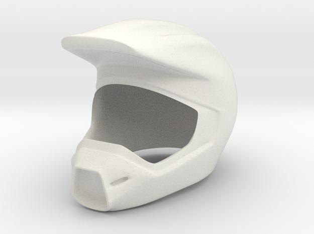 Helmet 8 in White Strong & Flexible