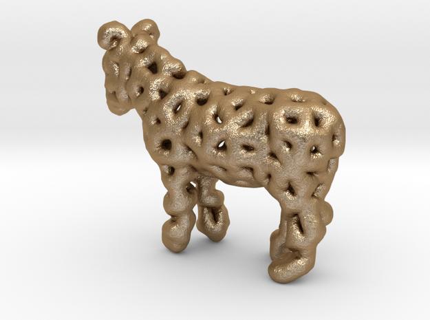 Digital Donkey in Matte Gold Steel