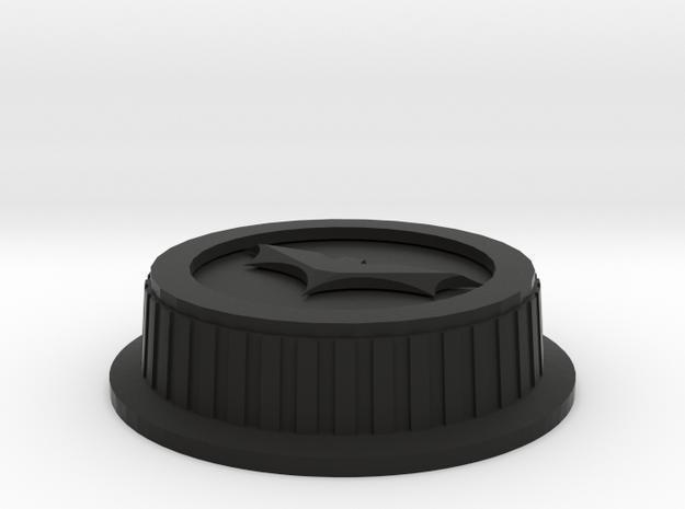 Batman Canon Lens Cover 3d printed