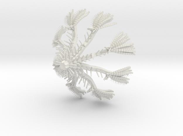 L-System in White Natural Versatile Plastic