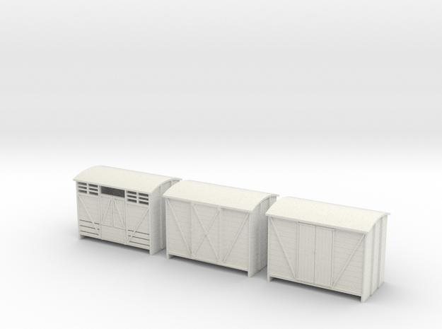 Sn2 Vans  in White Natural Versatile Plastic
