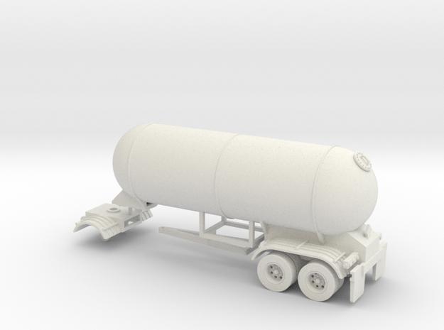 HO 1/87 LPG twin-axle Calf/Pup tanker, trailer 15 in White Strong & Flexible