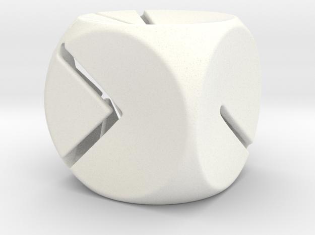 L'Indécis (20 mm - plastic) 3d printed