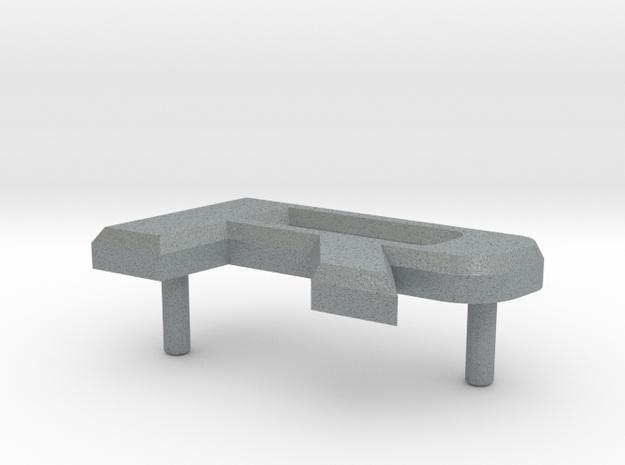 Retroën Character R  in Polished Metallic Plastic