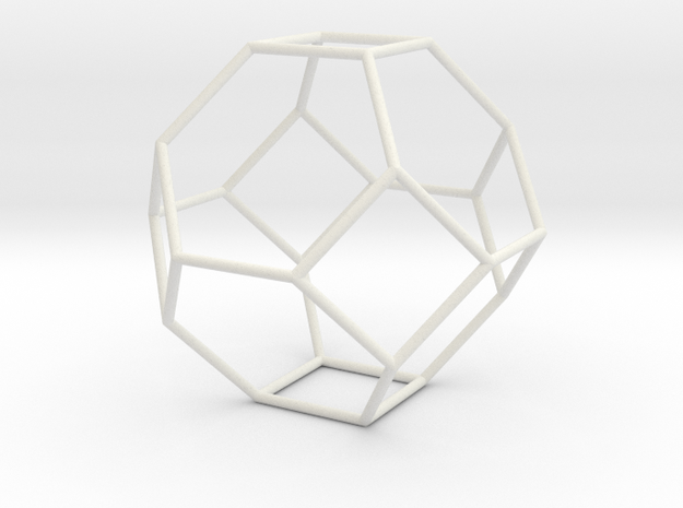 TruncatedOctahedron 100mm 3d printed