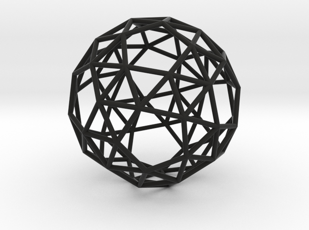 SnubDodecahedron 100mm 3d printed
