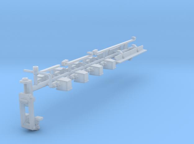 GN 15 Zurüstteile für Rechteckunterwagen 3d printed