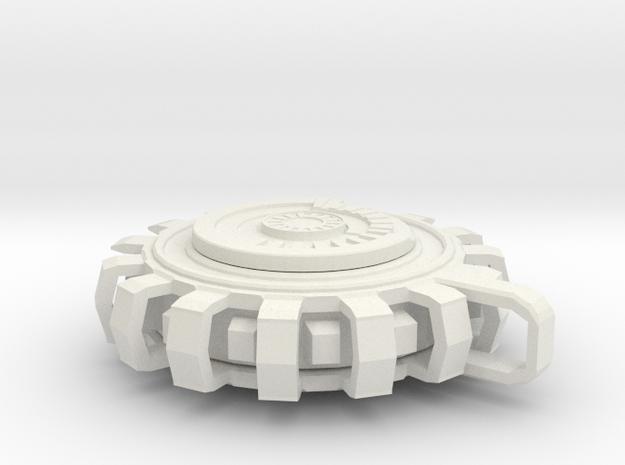 D.A.S.I.D in White Natural Versatile Plastic