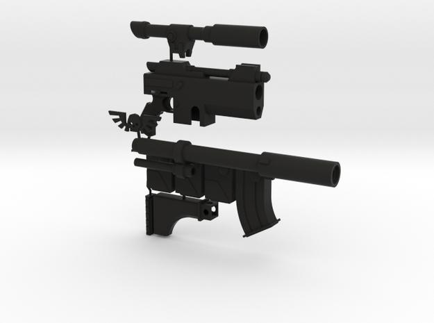 1:6 scale long suppressed sci-fi rifle