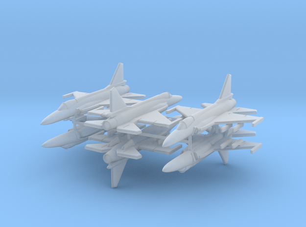 1/600 JF-17 Thunder (x6; FUD)* in Frosted Ultra Detail