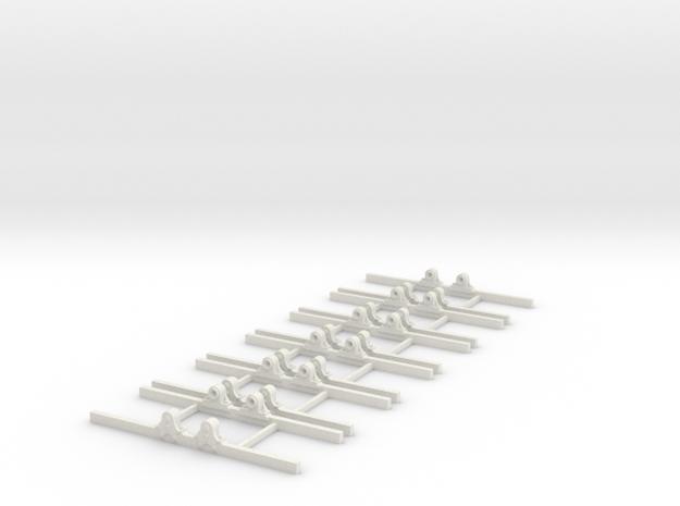 OO9 Underframe type b 2ft 4 wb x6 3d printed