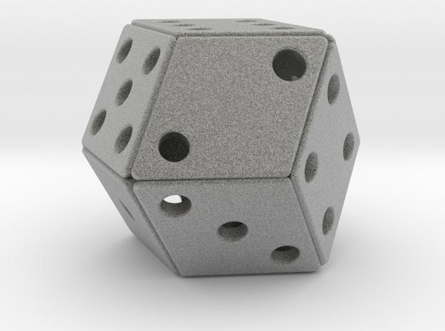 Rhombic Die #2 3d printed