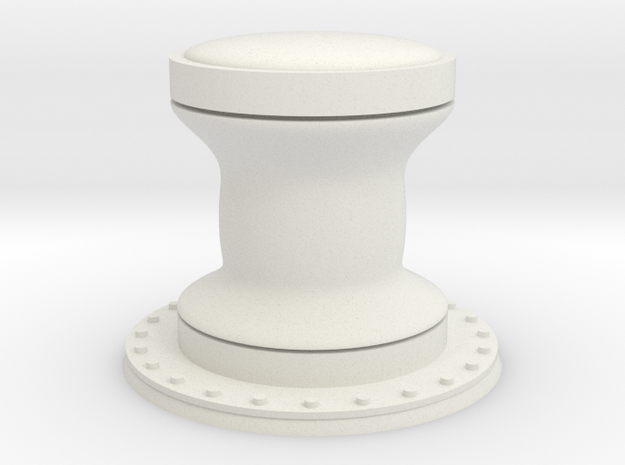1:96 scale Capstan - Generic style 3d printed