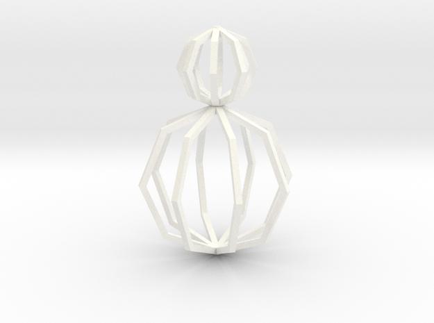 Motives - Ngon Double empty in White Processed Versatile Plastic