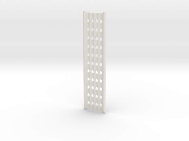 Ramp half length in White Natural Versatile Plastic