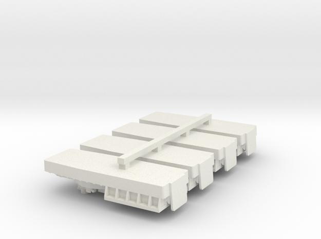 1/600 Vietnam ATC(H) 4 off in White Natural Versatile Plastic