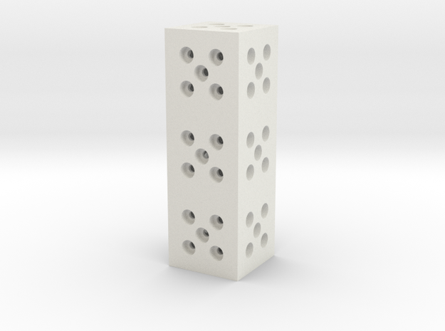 Building Block 1x3 3d printed