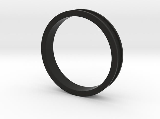 "1 1/2"" Headset spacer 7.5mm in Black Natural Versatile Plastic"