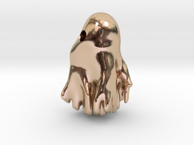 Cahn-Hilliard droplet pendant 3d printed
