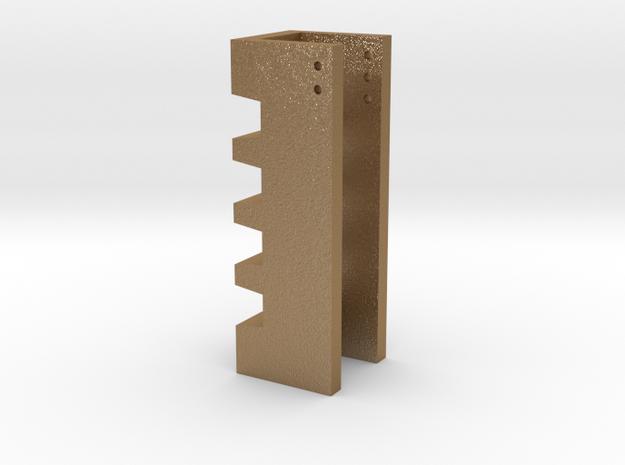 Precision 2° and 3° ski edge file guide 3d printed