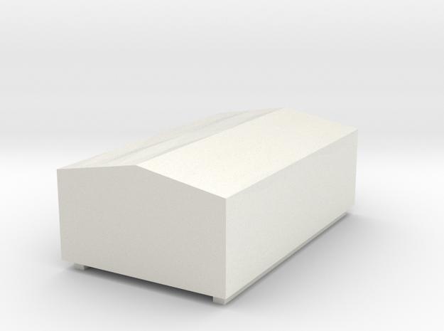 W50 Plane kurz / canvas short in White Strong & Flexible