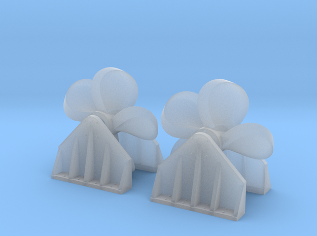 Propeller Load for Flat Car - NScale in Smooth Fine Detail Plastic