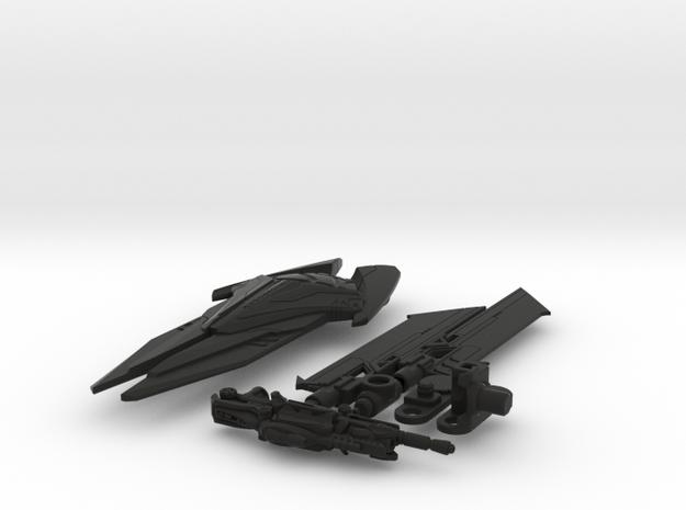 DOTM voyager Sentinel Prime weapon set 3d printed