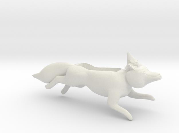 Fox With Gnome Iphone Speaker plastic 3d printed