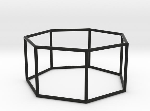 heptagonal prism 70mm 3d printed