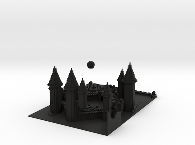wizard tower 3d printed