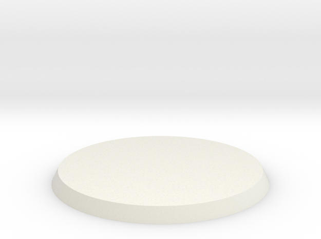 30mm Base in White Strong & Flexible