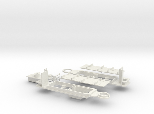 Hannover üstra 601 Fahrgestell in White Natural Versatile Plastic