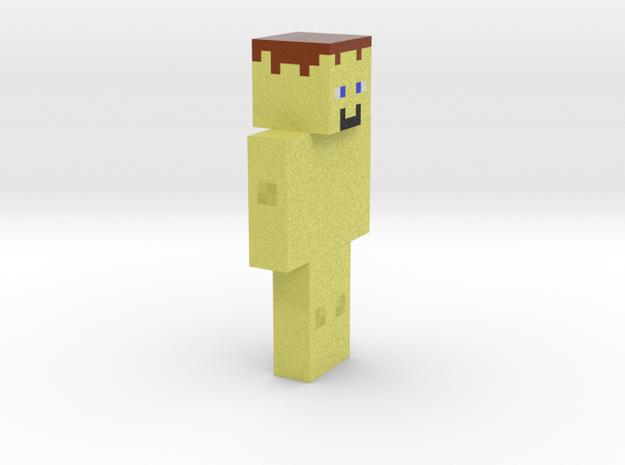 6cm | BlockBlockKitCat 3d printed