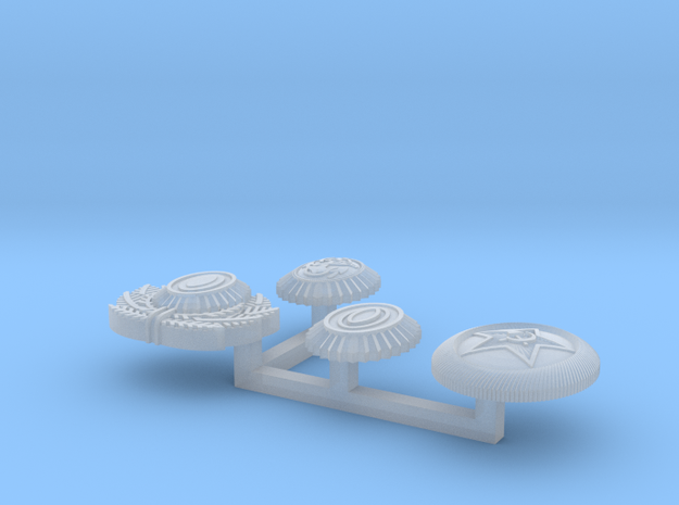 1/6 Russian Insignia set 2014 02 22 3d printed