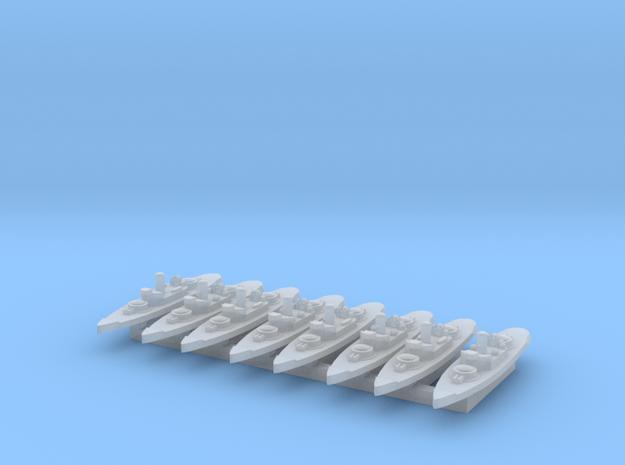 Amphitrite 1:6000 x8 3d printed