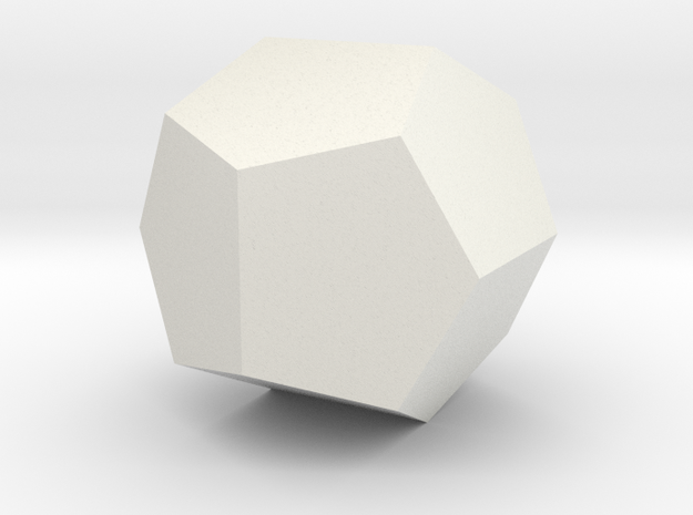 Pentagon dodecahedron 3d printed