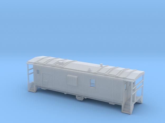 DMIR Minntac Caboose - Zscale 3d printed