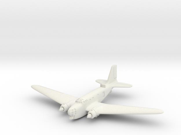 Douglas B-18A Bolo 6mm 1/285 (in flight)  in White Natural Versatile Plastic