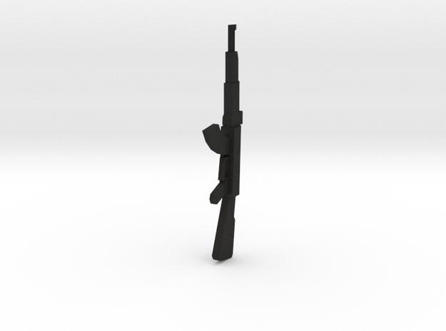 Miniature AK47 Gun 28mm 25mm 3d printed