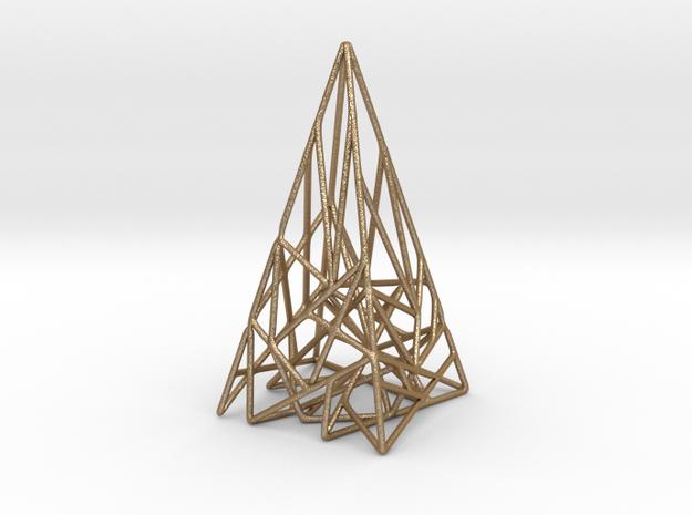 Triangulated Pyramid Pendant 3d printed