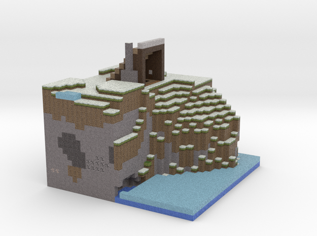 Cliff House 3d printed