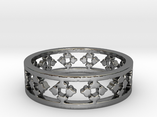 My Awesome Ring Design Ring Size 6 in Premium Silver