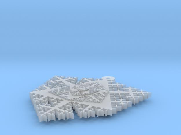 Cesaro Snowflake - 1 3d printed