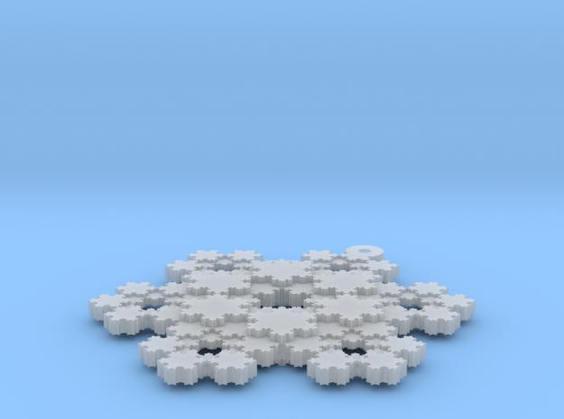 Koch Snowflake - 3 3d printed